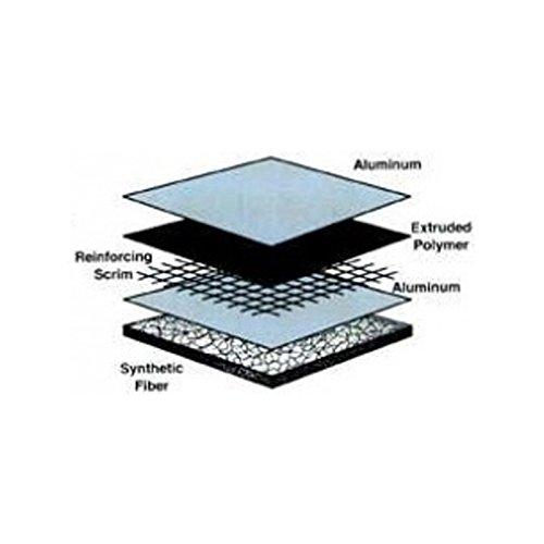 MACs Auto Parts 28-77113 Carpet And Headliner Sound Deadener Insulation Pad, Cut To Fit, 4'x 6' by MACs Auto Parts
