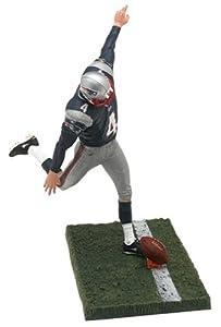 McFarlane NFL Series 10 Adam Vinatieri in New England Patriots Blue Jersey Figure