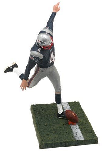 McFarlane NFL Series 10 Adam Vinatieri in New England Patriots Blue Jersey Figure (Tom Brady Super Bowl 51 Jersey For Sale)