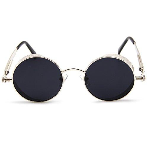 706f488494 En venta amztm pequeño y redondo efecto Espejo reflectante lente gafas de  sol polarizadas para las