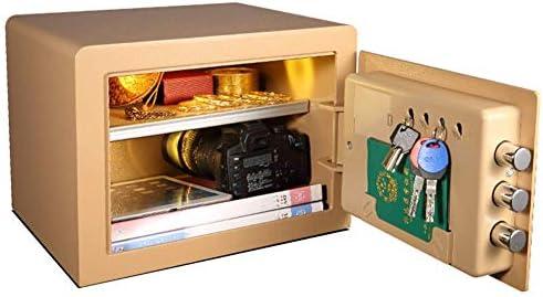 デジタルキーパッド付き電子スチール金庫、お金、宝石、パスポートを保護、ホームビジネスオフィス用、B、26.5 * 36 * 30cm - rnwmultimedia.com