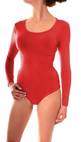 Easy Young Fashion - Sudadera - para mujer rojo rojo 38