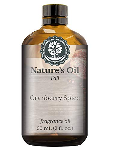 Cranberry Spice Fragrance Oil (60ml) For Diffusers, Soap Making, Candles, Lotion, Home Scents, Linen Spray, Bath Bombs, Slime