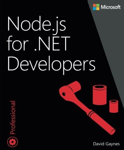 Node.js for .NET Developers (Developer Reference)