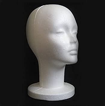 Kicode Weiblich Styropor Foam Manikin Kopfstand Mannequins