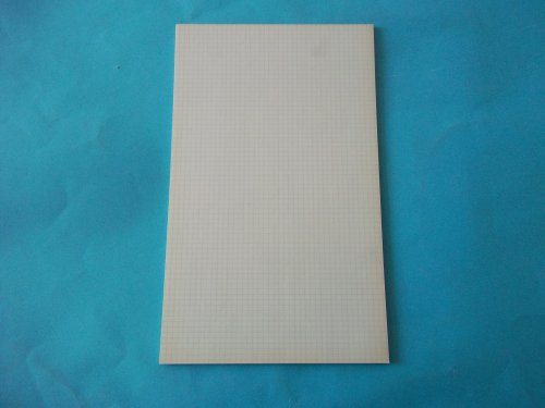 AMPAD, #22-008, Evidence, Pad, 5 x 5 , Legal, White, Blue Lined, 50-Sheet/Pad, 5 squares/inch, 8 1/2