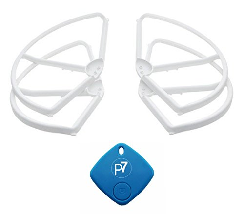DJI-Phantom-3-Genuine-Propeller-Guards-Part-2-for-Advanced-Professional-Quadcopter-4-Pack-Bonus-P7-FindIt-Beacon-Never-Lose-Your-Drone