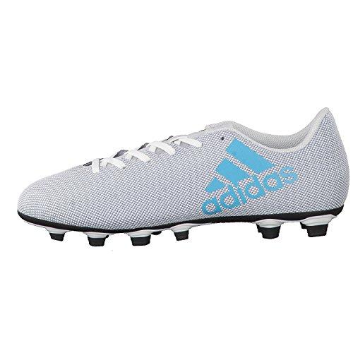 adidas X 17.4 Fxg - Zapatillas de fútbol Hombre Multicolor (Ftwr White/energy Blue /clear Grey )