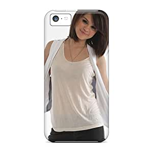 First-class Case Cover For Iphone 5c Dual Protection Cover Selena Gomez 87