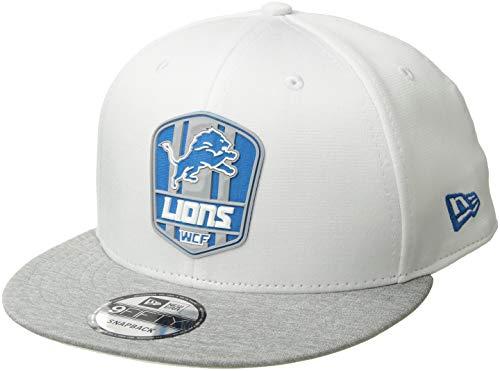 - New Era Detroit Lions 2018 NFL Sideline Road Official 9FIFTY Snapback Hat