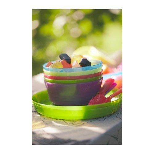 IKEA - KALAS Bowl, Assorted Colors (Set of 24)