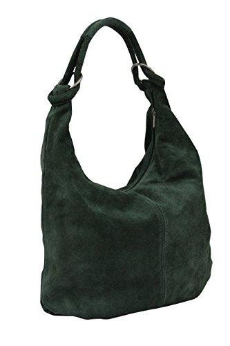 Large foncé AMBRA vert porter à Sac XX femme Moda l'épaule à pour P1qPHS