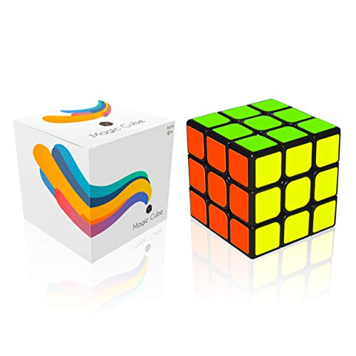 (Troco Rubik Cube [2019 Edition] - Magic Speed Cube 3x3 with Anti-Pop Structure. Rounded Corners for Fast and Smooth Rotation. for Professionals and Amateurs. Made from Safe Materials.)