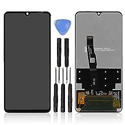 """LL TRADER Display für Huawei P30 Lite / P30 Lite New Edition Retina LCD Bildschirm und Digitizer 6.15""""Glas Ersatz Touchscreen + Reparaturwerkzeuge"""