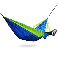 Hammocks, Easy Hanging Hammock with Tree Straps&Carabiners- Supports Up To 600 lbs for Camping Backpacking, Hiking, Travel, Beach, Yard