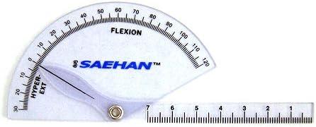 Winkelmesser SAEHAN Goniometer-Set in Soft-Case Tasche SH5206
