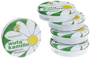 Wuta Kamille cajas paquete de 5 de crema para las manos 75 ml