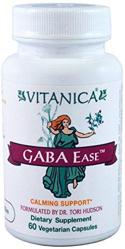 Vitanica - Gaba Ease - Calming Support - 60 Vegetarian Capsules