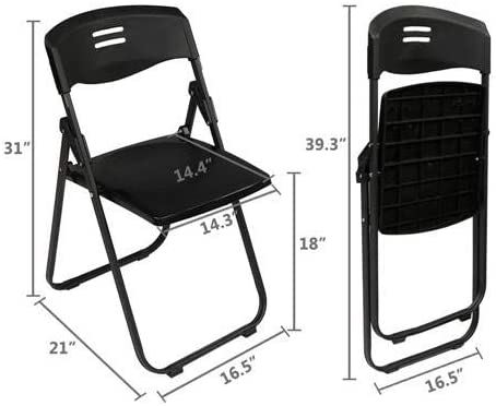VINGLI Plastic Folding Chair