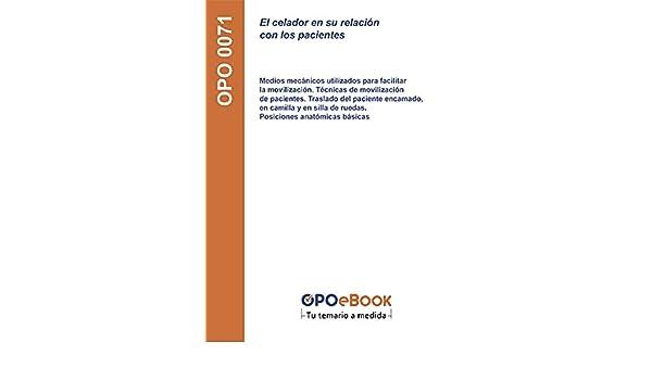 Medios mecánicos utilizados para facilitar la movilización. Técnicas de movilización de pacientes. Traslado ... anatómicas básicas (Spanish Edition) ...
