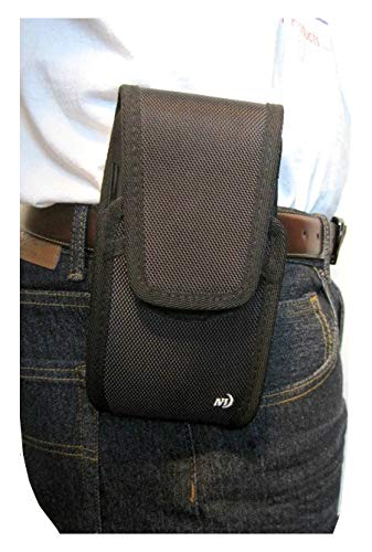 Nite Ize Tall Cargo Case, Rugged and Heavy Duty Holster Pouch for iPhone XR 6.1' Device