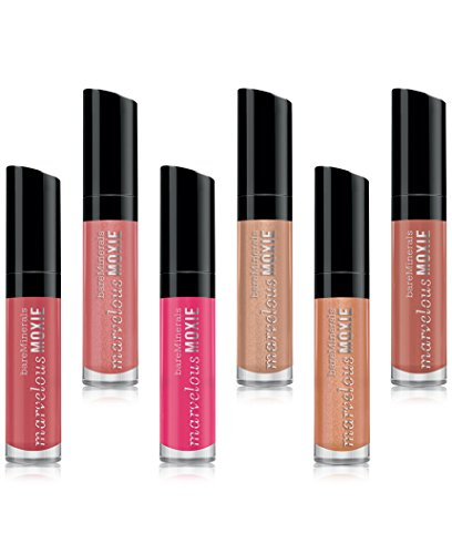 bareMinerals Stop, Gloss & Glisten 6pc Mini Marvelous Moxie Lipgloss Collection by Bare Escentuals
