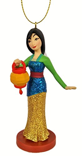Mulan - in Traditional Dress (Princess) Figurine Holiday Christmas Tree Ornament - Limited Availability - New for 2018
