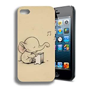 International Market Trading? Fashion Cute Baby Elephant Hard Case Cover for Iphone 6 plus 5.5 Verizon T-Mobile AT&T Sprint Mobile Wireless +with one random color Hair Ties