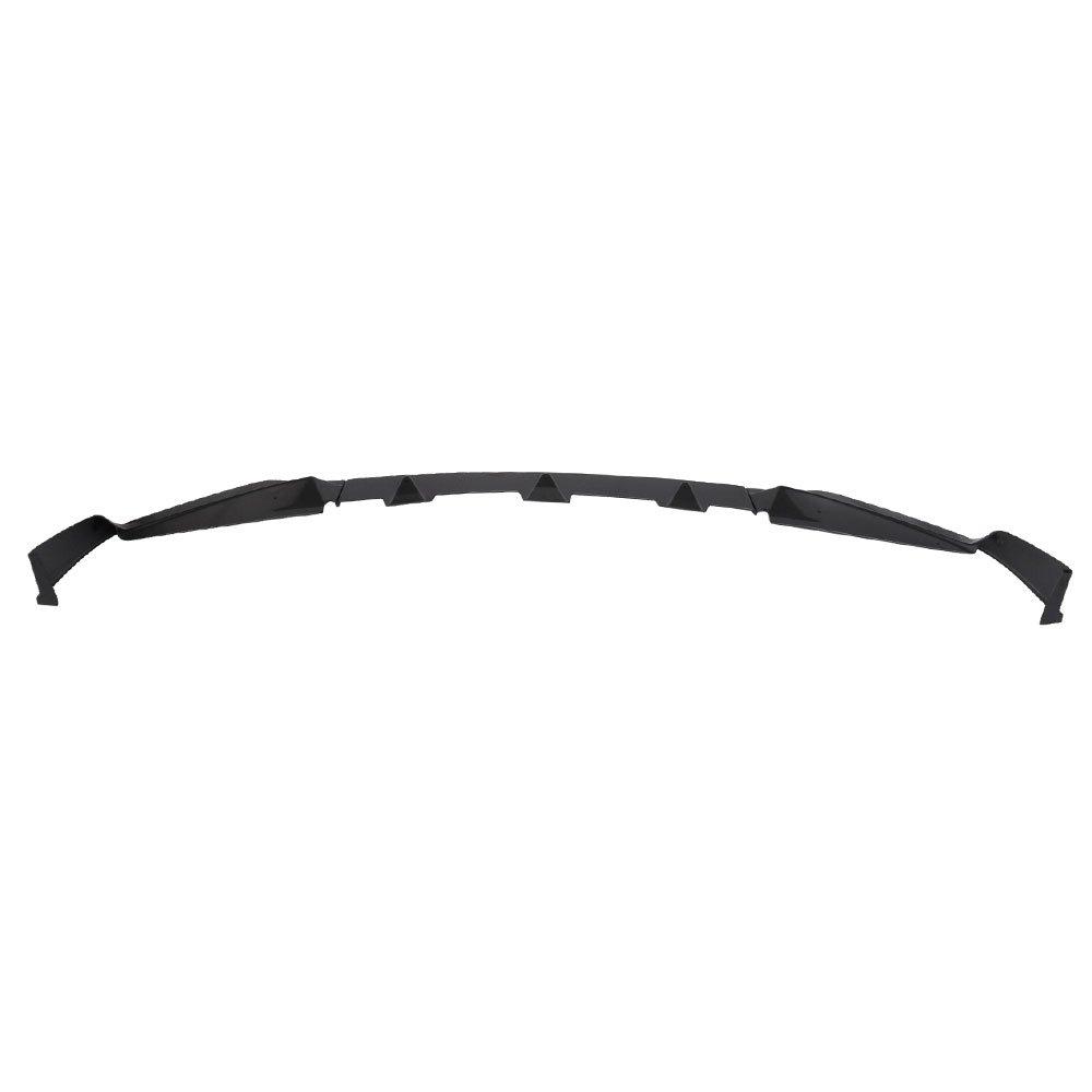 Unpainted ABS Lip Bodykit Splitter Diffuser Air Dam Chin Diffuser by IKON MOTORSPORTS 2015 2016 Front Bumper Lip Spoiler Fits 2014-2017 Infiniti Q50