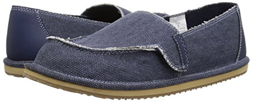 The Children's Place Boys' BB Slipon Deck Slipper, Navy, Youth 5 Medium US Infant - Image 6