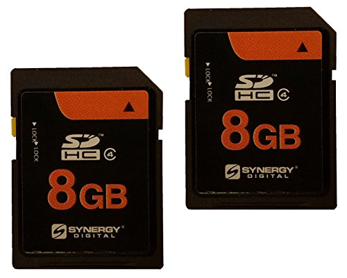 Kodak V550 Digital Camera Memory Card 2 x 8GB Secure Digital High Capacity (SDHC) Memory Cards (2 -