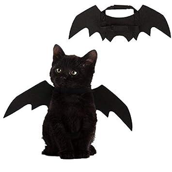 1pcs Clest F/&H Pets Bat Wings,Halloween Pet Bat Costume for Dogs,Cats