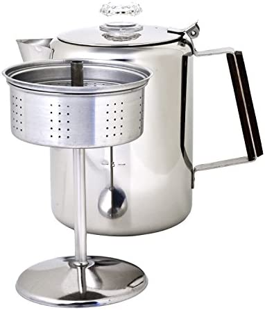 Chinook Timberline Stainless Steel Coffee Percolator Cookware