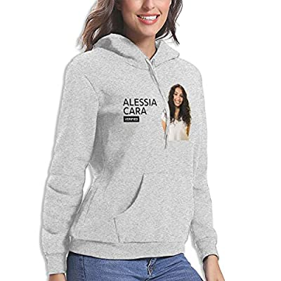 BE-AUTIFUL Alessia Cara Womens Perfect Hoodie Sport Pullover Gray