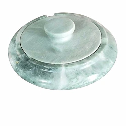 Stone Ashtray With Marble Creative Office Home Living Room Crafts Decorative Ornaments by KTYJH
