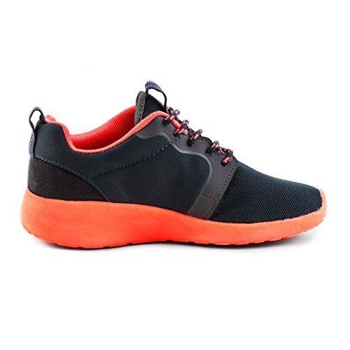 Laufschuhe grau Unisex Orange X Fitness Sneaker Schnür Turnschuhe Sport Herren Damen azvqEZwzp