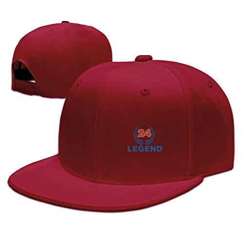 24# America Legend Baseball Adjustable Flat Bill Cap Snapback Hip Hop - Cap Cooperstown Fitted Home