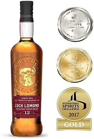 Loch Lomond Whiskies Loch Lomond 12 Years Old Single Malt Scotch Whisky 46% Vol. 0,7l in Giftbox - 700 ml