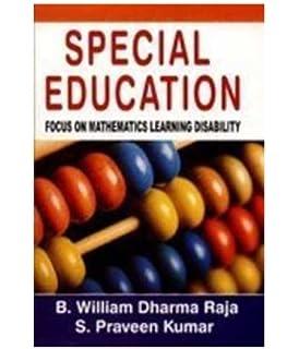 Special Education : Focus On Mathematics Learning Disability price comparison at Flipkart, Amazon, Crossword, Uread, Bookadda, Landmark, Homeshop18