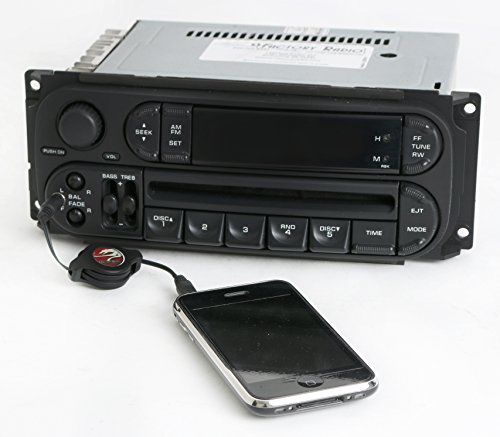 - Dodge Neon 2002-05 Radio AMFM CD Player Upgraded w Aux Input - RBK - Slider Ver