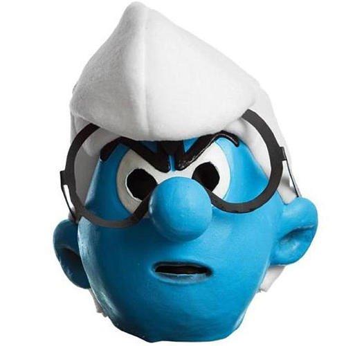 Smurfs Movie Brainy Mask,One Size