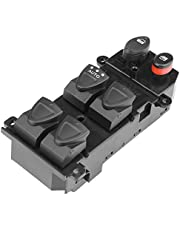 Fydun Power Window Switch 35750-SNV-H51 Car Front Left Driver Side Power Master Window Control Switch for for Honda Civic 2006 2007 2008 2009 2010