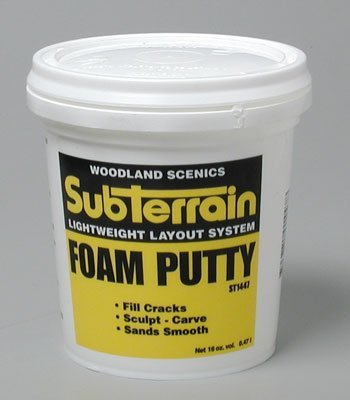 Horizon Hobby Woodland Scenics Foam Putty, Pint WOOST1447 ()