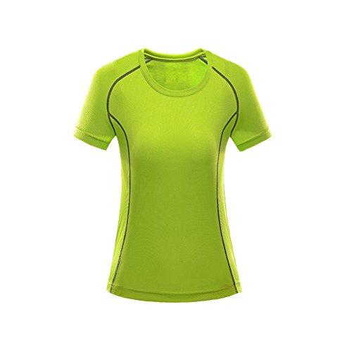 ISEYMI - Camisa deportiva - para mujer Verde