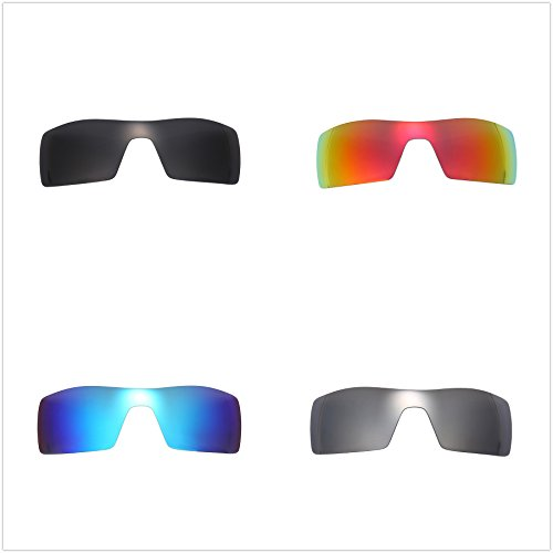 e87f98cc7e Set of 4 Polarized Replacement Lenses for Oakley Oil Rig Sunglasses  NicelyFit