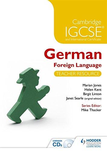 Cambridge IGCSE® and International Certificate German Foreign Language Teacher Resource & Audio-CDs (Cambridge Igcse & Internationl)