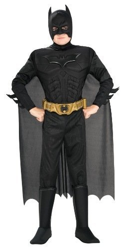 Rubie's Costume Co Deluxe Muscle Chest Batman Costume, Large Size: Large Color: One Color CustomerPackageType: , Model: RUB883104SUB1L, Toys & (Customes For Men)