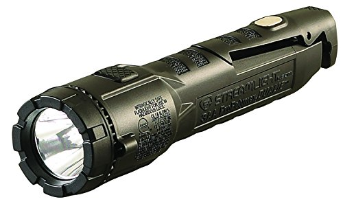 Streamlight 68783 Dualie 3AA Dual Beam Flashlight 140 Lumen Spot Beam and 140 Lumen Downward Facing Flood Light w/Built in Clip, Magnetic Base and Alkaline Batteries, (Dual Beam Flashlight)