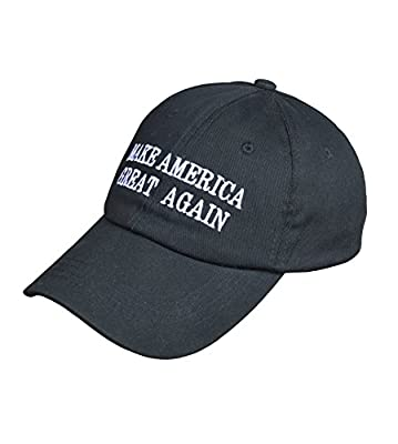 Adjustable Metal Buckle Baseball Cap Soft Cotton Dad Hat MAKE AMERICA GREAT AGAIN