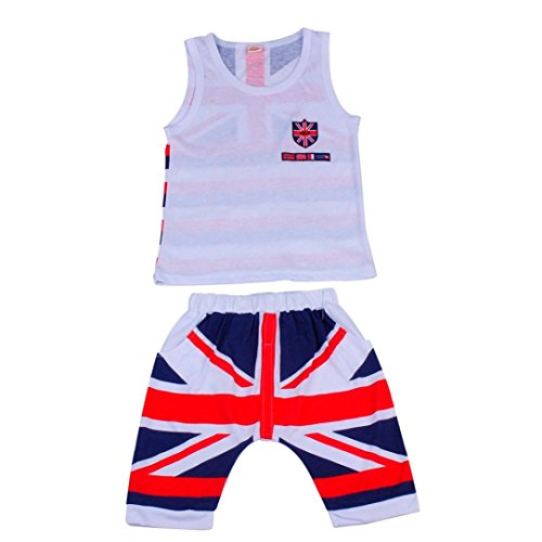6 Union Tops Outfits Vest White Pants Boys White Set Jack Baby Xinantime 7Y wnOaW4YqzY